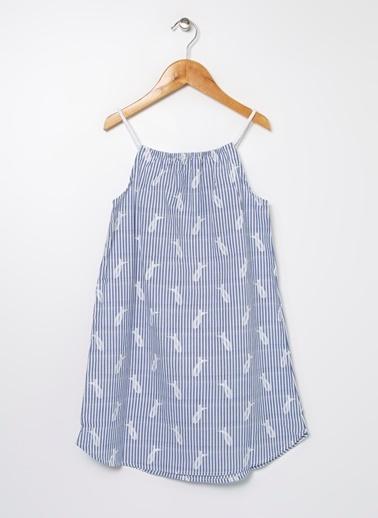 Limon Company Elbise Mavi